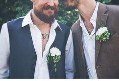 Inspirationen für eine Gay-Wedding von Atelier Nr. 8 und Something Blue Photography