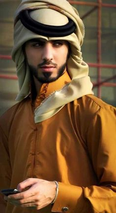 ok.....so I can see why he was kicked out of Saudi Arabia.............for being too handsome.....true story