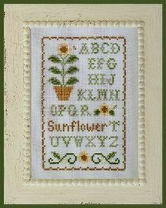 sunflower sampler (I'll stitch this one)