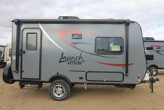 Our RV - Starcraft Launch Extreme Small Camping Trailer, Small Camper Trailers, Small Travel Trailers, Jeep Camping, Small Trailer, Small Campers, Camping Stuff, Rv Campers, Camping Life