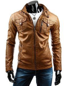 "Veste en cuir homme ""Hack 610"" http://vestesencuir.fr/vestes-en-simili-cuir-homme/20119-veste-en-cuir-homme-hack-618.html"