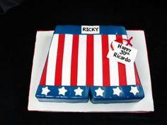 Boxing shorts, Rocky, Star spangled birthday