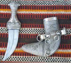 Omani Dagger Khanjar, a symbol of male elegance.