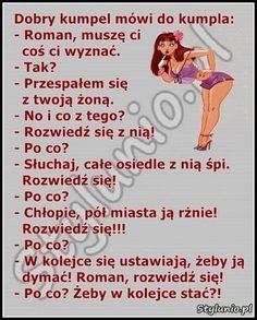 30 najlepszych kawałów na poprawę humoru – Demotywatory.pl Text Memes, Good Jokes, Wtf Funny, Motto, Life Lessons, Texts, Haha, Have Fun, Funny Pictures