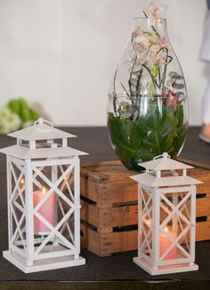 Lattice lanterns and Imperial Candle holder by Partylite Imperial does have a candle insert but is shown without in this photo. www.partylite.biz/bernadettewohlman