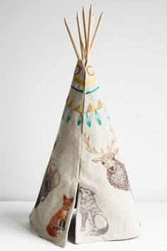coral and tusk tipi – Lost & Found