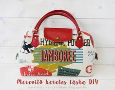 TETSZIK? ÉN CSINÁLTAM :): JAMBOREE merevítő keretes táska elkészítési leírás...
