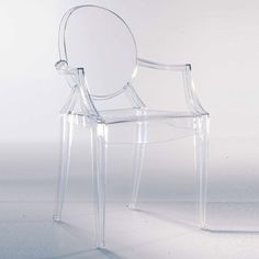 Louis Ghost Stol, Kristall - Philippe Starck - Kartell - RoyalDesign.se