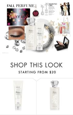 """Forever Diamonds"" by margaretkellogg ❤ liked on Polyvore featuring beauty, Argent, Harry Winston and Mary Kay"