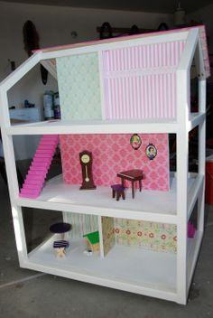 DIY dollhouse for Sadie