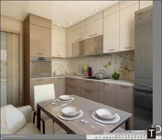 Дизайн интерьера кухни фото 9 кв