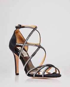 19feea85c90b Badgley Mischka Open Toe Evening Sandals - Meghan High-Heel Shoes - All  Shoes - Bloomingdale s
