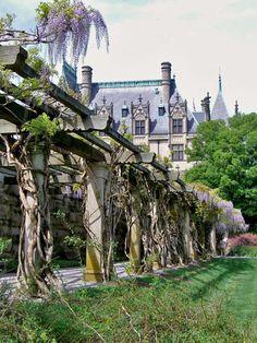 Biltmore House garden trellis, a lovely spot