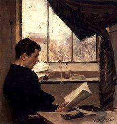 Emile Friant (1863-1932) – Autoportrait, dit Un étudiant (1885) Musée des Beaux-Arts de Nancy