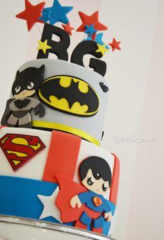Tarta Superhéroes infantiles   Tartas y Galletas { Cupcakes & Dreams }