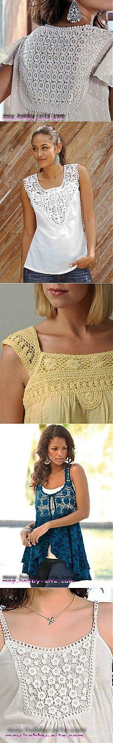 Ткань+ вязание..