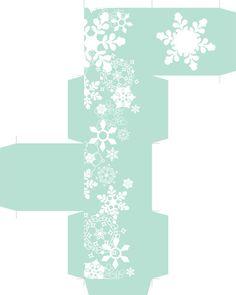 Snowflake FavourBox + pdf files