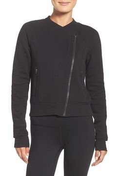 Zella Asymmetrical Training Jacket available at #Nordstrom