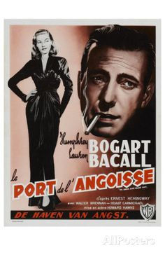 Belgian movie posters   To Have and Have Not, Belgian Movie Poster, 1944 Masterprint