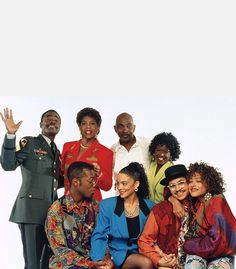 The main cast of A Different World: (top row) Glynn Turman as Colonel Bradford Taylor, Dawnn Lewis as Jaleesa Vinson-Taylor, Lou Myers (R.I.P.) as Veron Gaines, Charnele Brown as Kimberly Reese, (bottom row) Kadeem Hardison as Dwayne Cleophus Wayne, Jasmine Guy as Whitley Gilbert, Darryl M. Bell as Ron Johnson and Cree Summer as Winifred 'Freddie' Brooks. The show consistently ranked 1st or 2nd among African American viewers during most of its run.