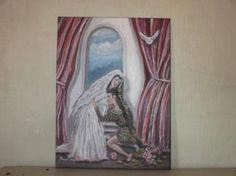 "Saatchi Art Artist saatchiart com bitter FRANS BOTHA; Printmaking, ""The first lost love"" #art"