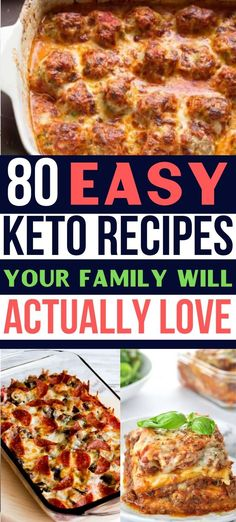 These 80 easy keto recipes are perfect for your ketogenic diet and weight loss! You're going love these yummy ketogenic recipes that'll help you lose weight! AMAZING keto diet for beginner recipes that are the BEST! Keto Foods, Ketogenic Recipes, Diet Recipes, Keto Diet Meals, Keto Taco, Diet Menu, Smoothie Recipes, Keto Food List, Cream Recipes