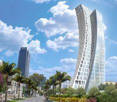 Oriya tel aviv residential tower by Daniel Libeskind