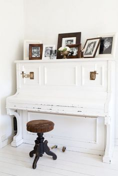 maybe I should have kept that old ugly piano and painted it!