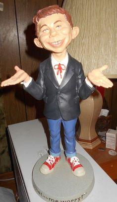 MAD MAGAZINE Alfred E Neuman Variante Figurine RARE-BRAND NEW