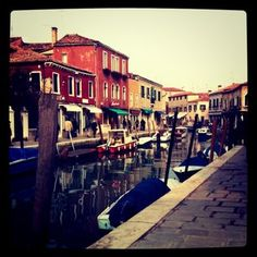 Murano. A place full of traditions and handy craftsmen.    #venice #venetian #murano