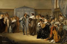 Pieter Codde (Merry Company with Masked Dancers)