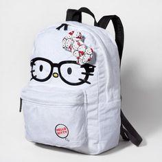 Nerdy Hello Kitty Backpack
