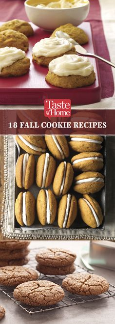Fall Cookies (from Taste of Home)