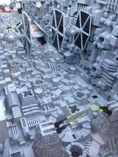 Esta increíble Estrella de la Muerte de Lego se hizo con 500.000 piezas