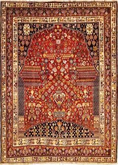 Persian Nice Qashqai Rug 287 x 205 cm,9.42 x 6.73 ft