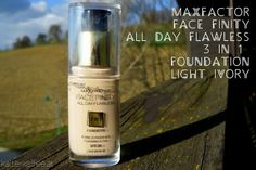 FF #6: MaxFactor Facefinity All Day Flawless 3in1 Foundation Light Ivory