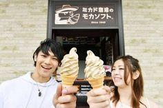 Which one is better ? Both are the Best Mocha ice cream of Mikado coffee in Karuizawa! ★ Karuizawa Prince Shopping Plaza  #japankuru #japan #cooljapan #karuizawa #mocha #mikado #shopping #summer #icecream #karuizawaprinceshoppingplaza #coffee #가루이자와 #커피 #모카아이스크림 #커피아이스크림 #여름끝판왕 #購物 #冰淇淋 #摩卡 #咖啡 #nikon