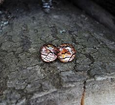 Lostangela / Medeno-zlaté krúžky 9 mm