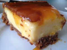 Flan, Cheesecakes, Ricotta, Pie, Sweets, Baking, Vegetables, Easy, Desserts