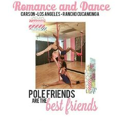 "Book your class today!  Classes are everyday at ALL LOCATIONS!  Come work out in ""A sexy new way"" POLE Dance!!! @romanceanddance #romanceanddance #ranchocucamonga #LA #LosAngeles #Carson #pole #PoleStudio #polefitness #poleaerobics #workout #FunWorkOut #newworkout #sexyworkout Pole Classes, Aerobics Classes, Rancho Cucamonga, Best Moisturizer, Pole Fitness, Anti Aging Cream, Pole Dancing, Fun Workouts, Best Friends"