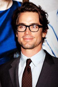Matt Bomer // Hot Guys with Glasses