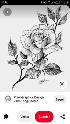 Tattoo Sketches, Tattoo Drawings, Tattoos, Roses, Flowers, Ideas, Tattoo Female, Drawings, Flower Tattoos