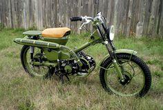 Army Green Honda CT90 Custom