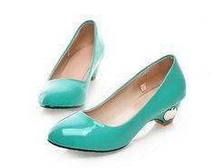 amoony low heeled shoe