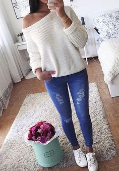 can't stay away from cozy sweaters like this one | she's amazing