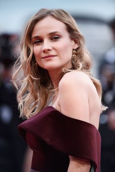 Diane Kruger attends a premiere for 'Black Mass' during the Venice Film Festival in Venice, Italy. Diane Kruger, Fashion Models, Fashion Beauty, Diana, Venice Film Festival, Look Star, Elisa Sednaoui, Vogue, Vanity Fair Oscar Party