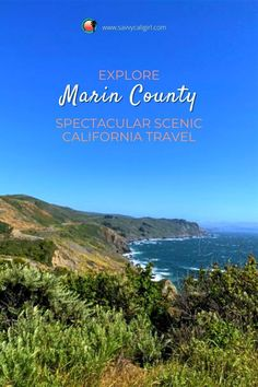 Explore spectacular California scenic travel in Marin County in Northern California. A day trip is full of forest drives, gorgeous beaches, great eats and even end the day dining in Sausalito right on San Francisco Bay.