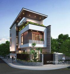 Mẫu thiết kế nhà phố đẹp mặt tiền 6m