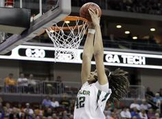 Dunking ain't just for the men's team.  Baylor now with two teams in the Elite 8.