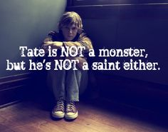 This is wrong. I'm pretty sure the whole point of AHS Season 1 was that Tate was the biggest monster of them all.